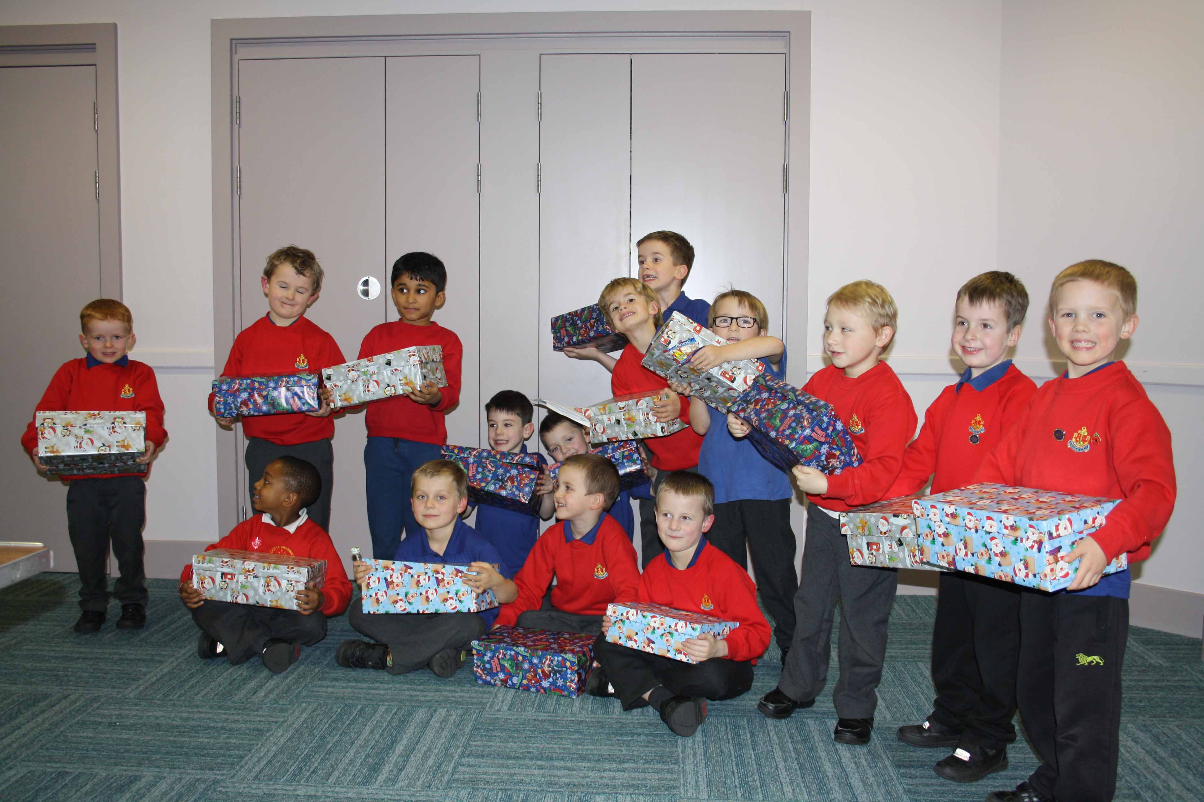 Our Anchor Boy Section Operation Christmas Child